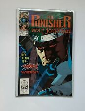 The Punisher War Journal # 11 (1st series) Marvel 1989 VF Get Ready For Shock..