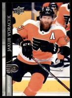 2020-21 UD Series 2 Base French #389 Jakub Voracek - Philadelphia Flyers