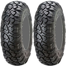 Pair 2 STI Black Diamond ATR 23x8-12 ATV Tire Set 23x8x12 23-8-12