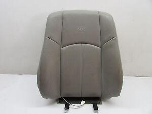 2009 INFINITI G37 SEDAN FRONT RIGHT UPPER SEAT CUSHION GRAY OEM 08 09