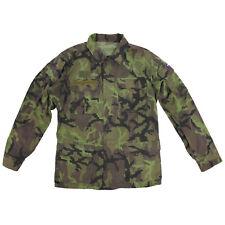 Genuine Czech Army Issue M95 Tarn Camouflage Field Jacket - Used Army Surplus