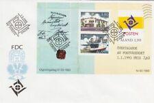 Postal Administration Sheet Aland Finland Mint FDC Sheet 1993