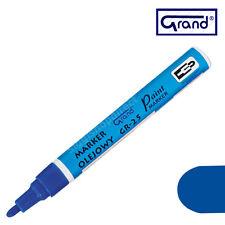MARCATORE UNIVERSALE vernice BLU a base di olio penna per IMPERMEABILE legno vetro plastica Pneumatico