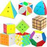 UK Professional Speed Magic Cube 2x2 3x3 4x4 Puzzle Twist Classic Brain Game Toy