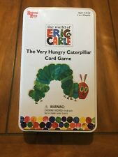 The Very Hungry Caterpillar Card Game In Tin Case The World Of Eric Carle