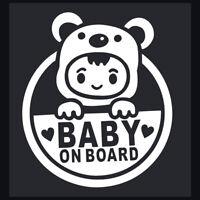 DIY Funy Cute Auto Car Baby On Board Sticke Window Vinyl Decal Decoration