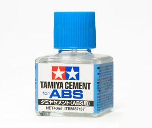 Tamiya 87137 Cement Pour ABS (40ml) Modélisme