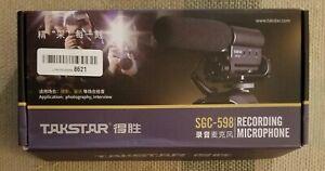 TakStar Recording Microphone SGC-598 For Camera - New Open Box