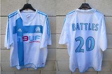 VINTAGE Maillot OLYMPIQUE de MARSEILLE ADIDAS BATTLES n°20 trikot football L