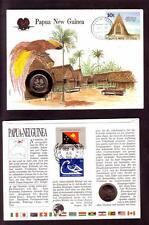 Papua New Guinea1986 Numisbrief (kn16_418)