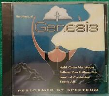 The Music of Genesis performed by spectrum 1995 CD (a20)