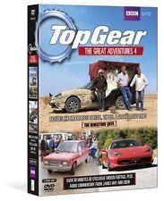 Top Gear - The Great Adventures 4 [DVD] NEU Motorsport Jeremy Clarkson