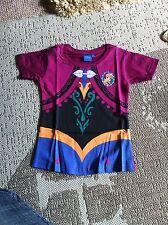 Brand New Disney Frozen Anna Tshirt Size 4-5 Years