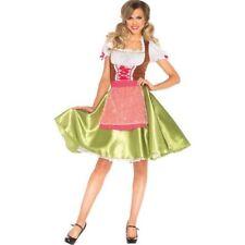 Woman's Darling Greta Costume Oktoberfest Beer Dress Leg Avenue 85508 Large