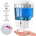 Automatic Liquid Soap Dispenser 700ML Handfree Touchless IR Sensor Wall Mount photo