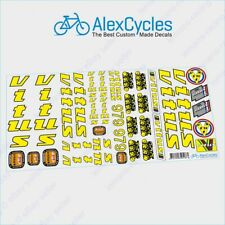 Decals White Vitus Top Tube Bicycle Frame Stickers n.9980