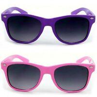 Kids Sunglasses Vintage Wayfarers For Children Boys & Girls W UV400 Protection