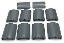 Lego Lot of 10 New Dark Bluish Gray Cylinder Quarter 4 x 4 x 6 Curved Panels