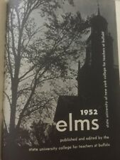 1952 Elms Yearbook State University of NY College for Teachers at Buffalo