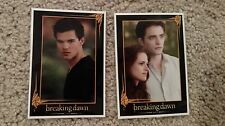 Twilight Saga Breaking Dawn Part 2 Promo Trading Cards PR-1 PR-2 Rare