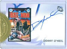 "DENNY O'NEIL ""CASE TOPPER AUTOGRAPH CARD"" DC LEGACY"