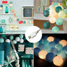 20 Cotton Ball String  Lights USB LED Bulb Bedroom Party Atmosphere Decoration G