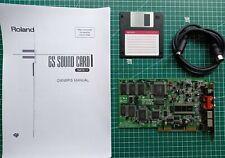 Roland SCC-1 Sound Canvas ISA MPU-401 Soundkarte sound card
