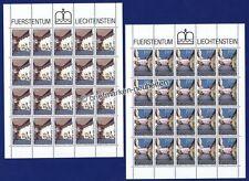 Architektur Briefmarken aus Liechtenstein mit Echtheitsgarantie