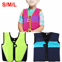 Children Swimming Float Suit Swim Jacket Vest Life Jacket For Kids 1-6 Years