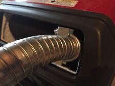 """Honda EU3000is Inverter Generator 1-1/2"""" steel exhaust extension (2 foot)"""