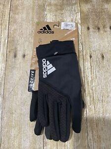 Adidas Women's Running Gloves Black Size L/XL