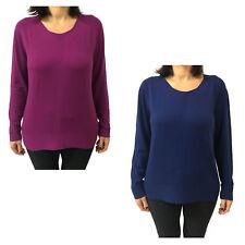 Women's Sweater Crew-Neck Elena Mirò 57%Polyamide 43%Viscose