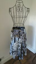 FCUK Contrasting mixed Print Skirt 10