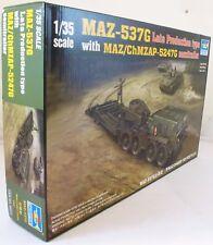 Trumpeter 1:35 00212 maz-537 Soviet tank transporteur Model Military Kit