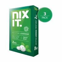 Nixit Nicotine Mint Flavor Sugar Free Lozenge, Stop Smoking Aid, No Need to Chew