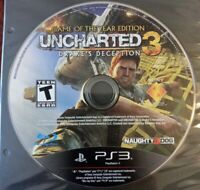 Uncharted 3 Drake's Deception Game of the Year Sony Playstation PS3 Disc Only