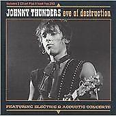Johnny Thunders - Eve of Destruction - Live  (Box Set, 2CDs + DVD, 2004)