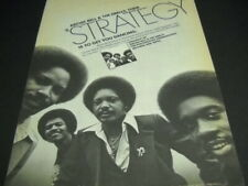 Archie Bell & The Drells Strategy to get you dancing 1979 Promo Poster Ad mint