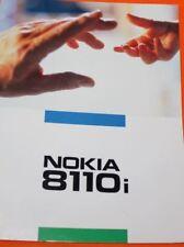 Original Nokia 8110 8110i Bedienungsanleitung von 1997 - ausgezeichneter Zustand