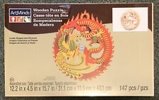 ArtMinds Lucky Dragon and Phoenix 3D Wooden Puzzle - 147 Pieces - New!