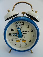 Vintage Donald Duck Bradley Alarm Clock Working Condition Made in Germany