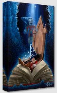 Disney Fine Art Treasures On Canvas Dreaming of Sorcery-Fantasia- Jared Franco