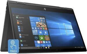 "HP Envy x360 15.6"" Convertible Laptop 2X1 AMD  - 8GB - (256 GB SSD + 1TB) Win10"