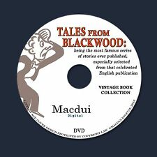 Tales from Blackwood by Chalmers Roberts 6 PDF Old Books on 1 Data DVD Series 2