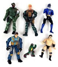 TMNT Power Rangers Army/Military Wrestling Action Figure Toy Lot Of 6 Figures