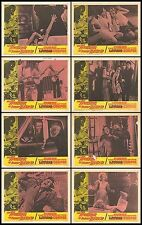 HORROR OF PARTY BEACH/THE CURSE OF THE LIVING CORPSE 11x14 lobby card set 1964