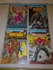 Dark Horse Comics Greatest World Steel Harbor #1 to 4 Complete Mini Series