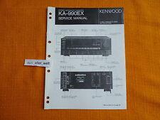 SERVICE MANUAL Kenwood KA 990EX english Service Anleitung