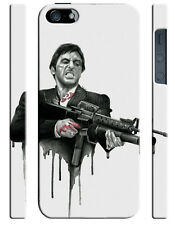 Scarface Al Pacino Drawing Iphone 4s 5 6 7 8 X XS Max XR 11 Pro Plus Case 1782