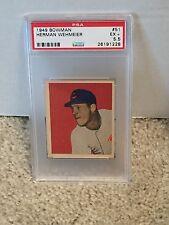 1949 Bowman #51 - HERMAN WEHMEIER - PSA 5.5 EX+ Cincinnati REDS  -RH